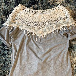 Adorable boho shirt